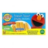 [Earth`S Best Baby Foods] Sesame Street Line French Toast Sticks  At least 70% Organic