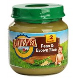 [Earth`S Best Baby Foods] Fruit & Vegetables Peas & Brown Rice  At least 95% Organic