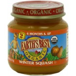 [Earth`S Best Baby Foods] Fruit & Vegetables Winter Squash  At least 95% Organic