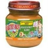 [Earth`S Best Baby Foods] Antioxidant Baby Food Sweet Potato Apricot  At least 95% Organic