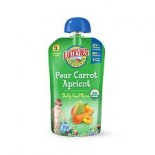 [Earth`S Best Baby Foods] Fruit & Vegetables Puree, Pear Carrot Apricot 3rd  At least 95% Organic