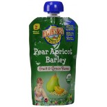 [Earth`S Best Baby Foods] Fruit & Grain Puree Pear Apricot Barley  At least 95% Organic