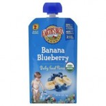 [Earth`S Best Baby Foods] Fruit & Vegetables Puree, Banana Blueberry 2nd Food  At least 95% Organic