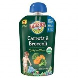 [Earth`S Best Baby Foods] Fruit & Vegetables Puree, Carrot Broccoli  At least 95% Organic