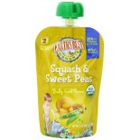 [Earth`S Best Baby Foods] Fruit & Vegetables Puree, Squash & Sweet Pea  At least 95% Organic
