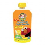 [Earth`S Best Baby Foods] Sesame Street Line Frt Smthi, Pineapple/Orange/Banana  At least 95% Organic