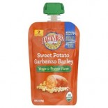 [Earth`S Best Baby Foods] Vegetable Combinations Sweet Potato, Garbanzo, Barley  At least 95% Organic