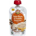 [Earth`S Best Baby Foods]  Chicken, Risotto & Portabella  At least 95% Organic