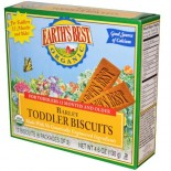 [Earth`S Best Baby Foods] Teething Biscuits Wheat Free  At least 95% Organic