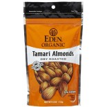 [Eden Foods] Snacks Tamari Almonds, Dry Roasted  At least 95% Organic