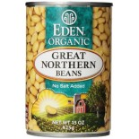 [Eden Foods] Organic Beans Great Northern  At least 95% Organic