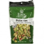 [Eden Foods] Snacks Pistachios, Shelled & Dry Roasted  At least 95% Organic