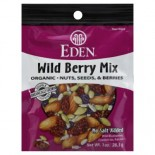 [Eden Foods] Pocket Snacks Wild Berry Mix  At least 95% Organic