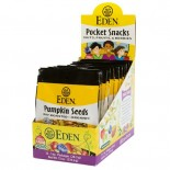 [Eden Foods] Pocket Snacks Seeds, Pumpkin, Salted  At least 95% Organic