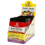 [Eden Foods] Pocket Snacks Cherries, Montmorency, Dried  At least 95% Organic