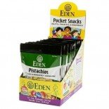[Eden Foods] Pocket Snacks Pistachios, Shelled  At least 95% Organic