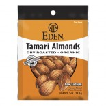 [Eden Foods] Pocket Snacks Almonds, Tamari  At least 95% Organic