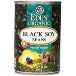 [Eden Foods] Organic Beans Black, Soy  At least 95% Organic