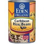 [Eden Foods] Organic Beans Rice & Caribbean Black Beans  100% Organic
