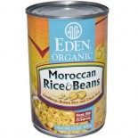 [Eden Foods] Organic Beans Moroccan Rice & Beans, LF  At least 95% Organic