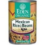 [Eden Foods] Organic Beans Mexican Rice & Beans, LF  At least 95% Organic