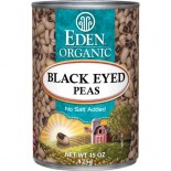 [Eden Foods] Organic Beans Black Eyed Peas  At least 95% Organic