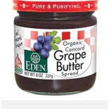 [Eden Foods] Condiments Concord Grape Butter  100% Organic