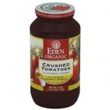 [Eden Foods] Tomato Products Crushed w/Onion & Garlic (Amb Gls)  100% Organic