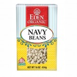 [Eden Foods] Dried Beans Navy Beans  At least 95% Organic