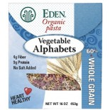 [Eden Foods] Pasta Vegetable Alphabets  At least 95% Organic
