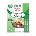 [Eden Foods] Pasta Vegetable Shells, Sifted Wheat  100% Organic