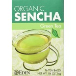 [Eden Foods] Tea Sencha, Green  At least 95% Organic
