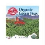 [Sno-Pac] Vegetables Peas, Green  At least 95% Organic