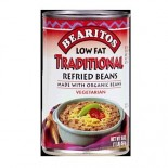 [Bearitos] Beans & Dips Refried, Regular, Low Fat  At least 95% Organic