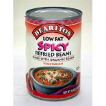 [Bearitos] Beans & Dips Refried, Spicy, Low Fat  At least 70% Organic