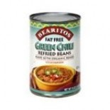 [Bearitos] Beans & Dips Refried, Green Chili, FF  At least 70% Organic