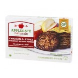 [Applegate Farms] Sausage Patties Breakfast, Chicken & Apple GF