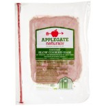 [Applegate Farms] Sliced Deli Meats Slow Cooked Ham, ABF