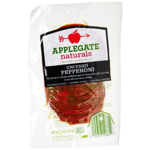 [Applegate Farms] Sliced Deli Meats Sliced Pepperoni, ABF
