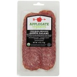 [Applegate Farms] Organic Meats Genoa Salami, Sliced  At least 95% Organic