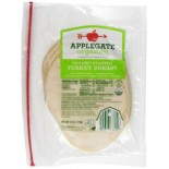 [Applegate Farms] Organic Meats Oven Roasted Turkey, Sliced  At least 95% Organic