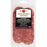 [Applegate Farms] Sliced Deli Meats Genoa Salami, ABF