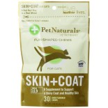 [Pet Naturals Of Vermont] Supplements for Cats Skin & Coat Soft Chew For Cats