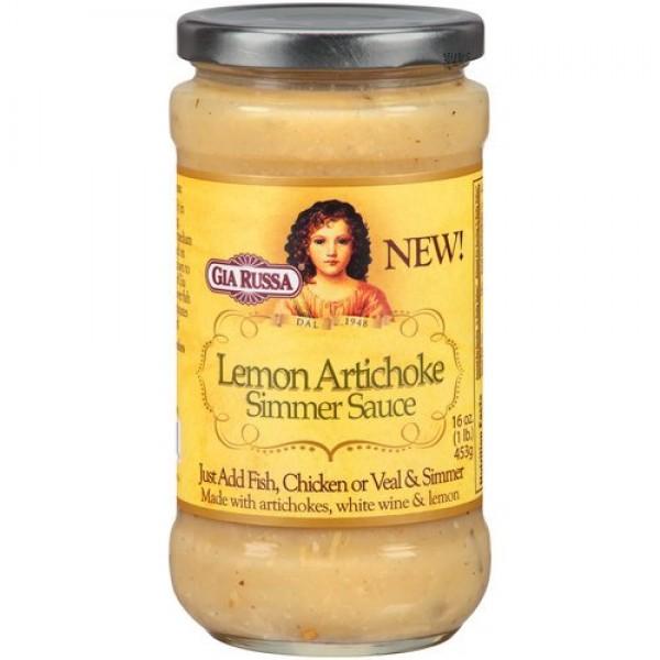 [Gia Russa] Simmer Sauces Lemon Artichoke