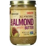[Woodstock] Nut Butters Almond,Ltly Tstd,Smooth,No Salt