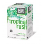 [Good Earth Teas] Green Teas Tropical Rush  At least 95% Organic