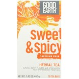 [Good Earth Teas] Herbal Teas Sweet & Spicy Caffeine Free