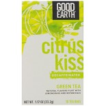 [Good Earth Teas] Green Teas Citrus Kiss, Decaf