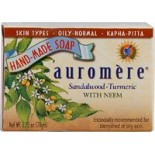 [Auromere Ayurvedic Products] Soap Sandal Turmeric