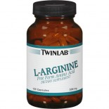 [Twin Lab] Amino Acid Supplements L Arginine 500 mg